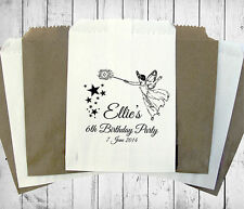 Personalised Birthday Sweet Bags BIRTHDAY FAIRY Candy Cart Wedding Favours Confe