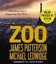 Zoo by James Patterson and Michael Ledwidge (2012, CD)