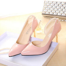 New Sexy Womens Girls Pointed Toe Shallow mouth Stilettos High Heels Shoes