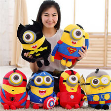 """8"""" Despicable Me Minions Plush Toys 3D Eyes Cute Kids Soft Doll Toys Gift"""