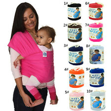 New Cotton Moby Wrap Infant Carrier Baby Sling stretchy Breastfeed Top Backpack