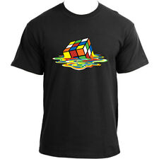 Big Bang Theory Sheldon Cooper Melted Rubiks Cube T-Shirt