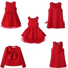 Baby Kids Flower Girl Dress Toddler Birthday Wedding Bridesmaid Recital Pageant