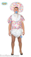 REDUCED NO BONNET * Floral Big Baby COSTUME Bib,Nappy, Stag Fancy Dress Costume