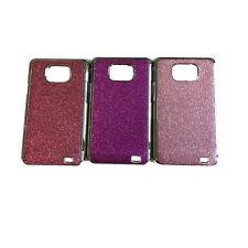 New Sparkle Glitter Bling Chrome Hard Cover Case For Samsung Galaxy S2 i9100 SII