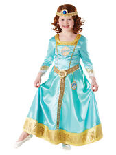 Merida Brave Costume Girls Disney Princess Kids Fancy Dress Costume Party Outfit