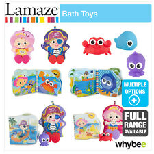 Tomy Lamaze Bath Toys Baby Nursery Full Range! Books, Squirters & Water Fun