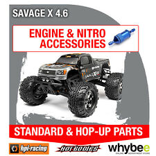 HPI SAVAGE X 4.6 [All Engine Parts] Genuine HPi Racing R/C Standard & Hop-Ups
