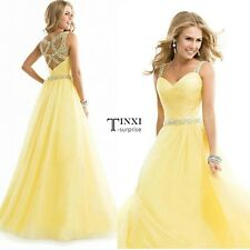 Women Sleeveless Sequin Prom Ball Gown Cocktail Party Dress Formal Evening TXSU