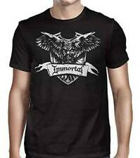 Immortal Crest Men's Black T-Shirt SM, MD, LG, XL, XXL New