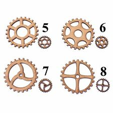 Steampunk Cog / Gears Craft Shapes, Embellishments, Tag, Decoration.2mm MDF Wood
