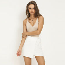 New Ava And Ever Chanel Skirt in White | Womens>Womens Skirts
