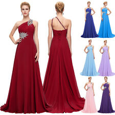 Full-Length Wedding Party Bridesmaid Dresses Evening Formal Long Prom Grad Dress