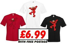 kids ELMO Sesame street T shirt Funny Gift Ages 3-4 to 12-14