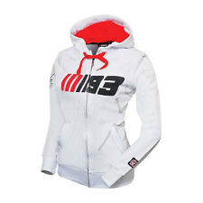 LADIES Marc Marquez 93 White Hoody/Hoodis Official MotoGP Merchandise Lady/Women