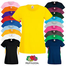 Fruit Of The Loom FOTL Lady Fit Valueweight T Shirt (61372)