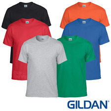 Gildan MEN'S T-SHIRT GYM SHIRT WICKING SPORTS FITNESS RUNNING PLAIN SUMMER TEE