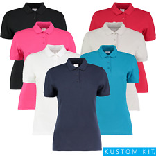 Kustom Kit Ladies Slim Fit Short Sleeve Polo (KK213)