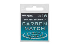 Drennan Carbon Match Micro Barbed Spade End Hooks