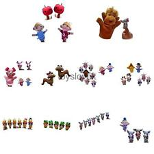 Plush Finger Puppets Sets Soft Toys Baby Kids Story Telling Educational Hand Toy