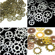65pcs 100g Cogs Gears Jewelry DIY Art Craft Steampunk Watch Parts Bronze
