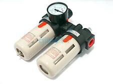 BFC Air Filter Regulator Combination Lubricator Two Union Treatment AIRTAC Type