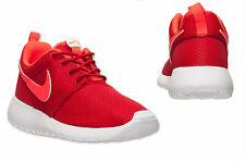 Nike Grade school (GS) Roshe run GYM RED BRIGHT CRIMSON 599728-602