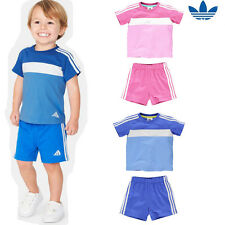 Summer Boys/Girls Sport T-Shirt 100%Cotton Short Sleeve+Short Pants Set 1~6Year