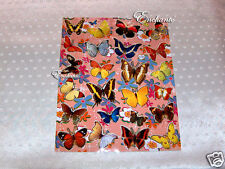 New Beautiful Colorful Butterfly Stickers Apprx A4 Sheet Kids Gift Scrapbook