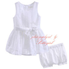 Toddler Kid Baby Girls Summer Clothes Set Flower Bow Tops+Shorts 2pcs Outfits