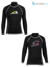 Osprey Adult Long Sleeve Thermal Ladies Mens Rashie Guard UV Protection Surf