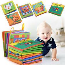 Kid Educational Intelligence development Cloth Bed Cognize Book Toy for Baby CHI