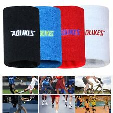 Sports Basketball Tennis Yoga GYM Unisex Sweat Wrist Band Sweatband Wristband