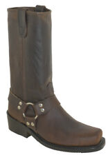 """Double-H Men's 12"""" Domestic Harness Work Boot 4004 Made In the USA"""