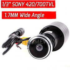 MINI 170 Wide Angle 420/700TVL SONY CCD CCTV Door Hole Peephole Video Camera