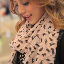 New Fashion New Lady Women Long Soft Scarves Wrap Lady Shawl Silk Chiffon Scarf