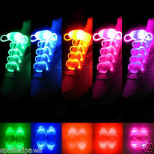 Clubwear Shoe Lace Lights LED Flash Glow In The Dark Night Fancy Party Clothes