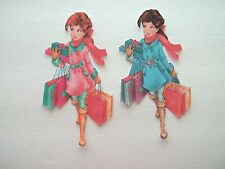 3D ~ U Pick - Girl Teen Shopping Friends Scrapbook Card Embellishment #1919