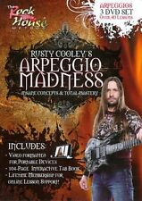 The Rock House Method: Rusty Cooley's Arpeggio Madness [Regions 1,2,3,4,5,6] - D