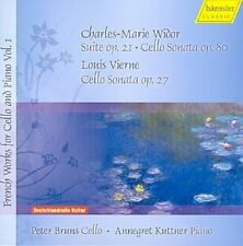 French Works for Cello and Piano Vol 1 - Widor, Vierne / Peter Bruns, Annegret K