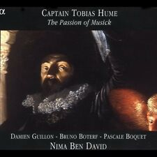 Captain Tobias Hume: The Passion of Musick