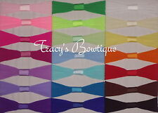 Pick 1 Toddler Baby Girls Nylon Interchangeable Pantyhose Headband 12-36 Months
