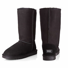 UGG Long Boots Unisex Classic - 100% Australian Made - Black