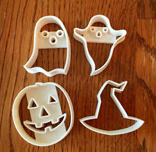 Set of four Halloween cookie and fondant cutter - US SELLER!!