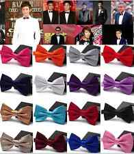 New Boys Girls Satin Formal Boys Tuxedo Bowtie Suit Bow Adjust Tie Wedding Party