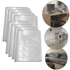 3M x 4M WATERPROOF PLASTIC DECORATING DUST SHEET PAINTING COVER PROTECTOR