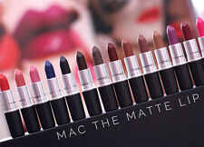 MAC Lipstick Matte/Lustre  Including New Colors Choose Your Shade  Free Shipping