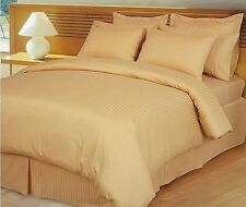 1000TC EGYPTIAN COTTON BED SHEETS COLLECTION GOLD STRIPE!MAKE YOUR CHOICE