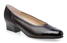 Equity Felicity  Wide Fitting E Soft Leather Court Shoes