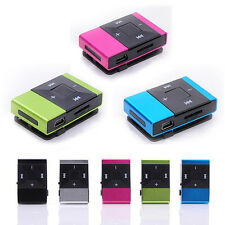 Portable Mini Colorful USB Clip Digital Mp3 Music Player Support 8GB SD TF Card
